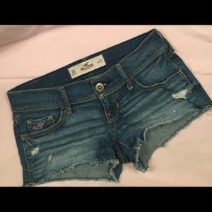 Hollister Distressed Denim Shorts